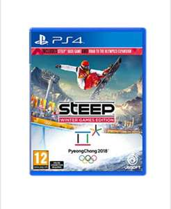 Steep Road To The Olympics (PS4) £12.85 Delivered @ Base