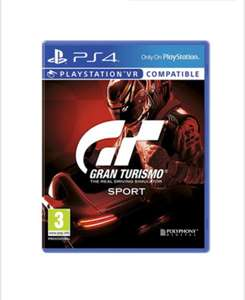"Gran Turismo: Sport (PS4) [Includes ""That's You!"" Game Download Code] £16.85 Delivered @ Base"