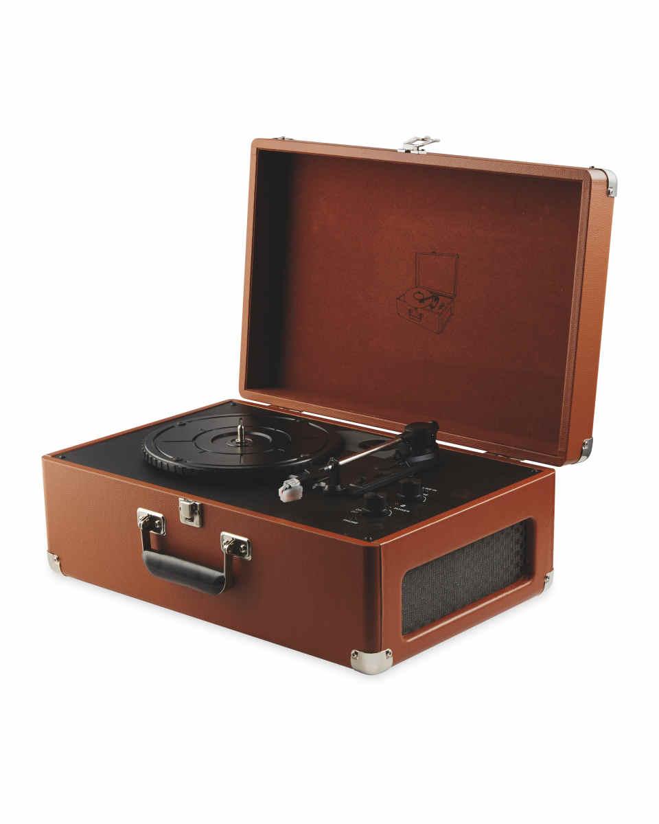 Reka Vintage Suitcase Turntable With MP3 Converter £39.99 @ Aldi