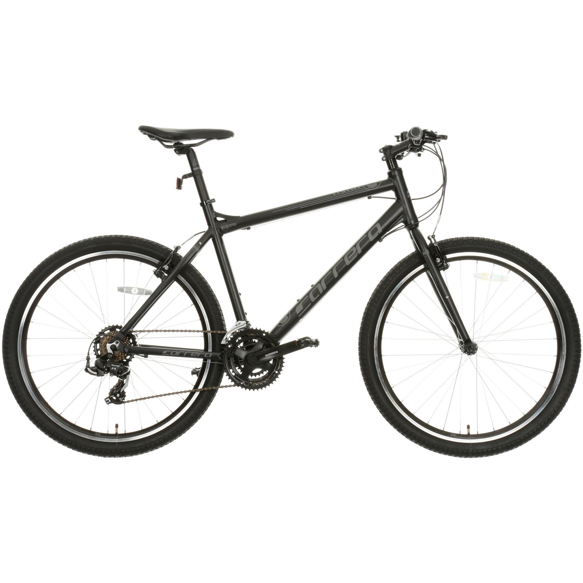 Carrera Parva Mens/womens Hybrid Bike - Black, £189 at Halfords-w/c
