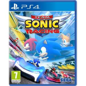 Sonic Racing PS4/XBO Game £27.99 / £31.99 for switch pre order @ 365games
