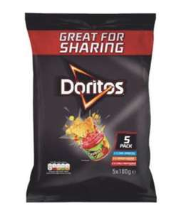Doritos variety pack (5 x 180g large packs with 3 flavours) @ Costco warehouse - £3.79