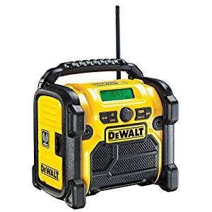 DeWalt DCR020-GB Compact Jobsite DAB Radio £66.50 Prime Exclusive @ Amazon [batteries not included]
