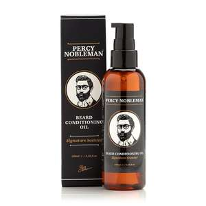 Percy Nobleman 100ml Beard Oil 50% Off Quick sale £9.99 Prime £14.48 Non Prime Sold by F&MCosmetics and Fulfilled by Amazon