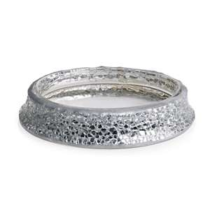 Only 75p & free C&C silver mosaic soap dish from wilko