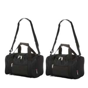 2 Ryanair cabin bags 35x20x20cm £13.99 delivered @  Luggage Travel Bags UK. on Amazon