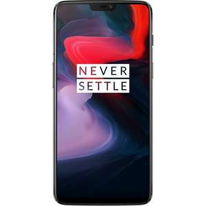 OnePlus 6 6GB/64GB - Mirror Black £424.99 With a code  at Toby Deals
