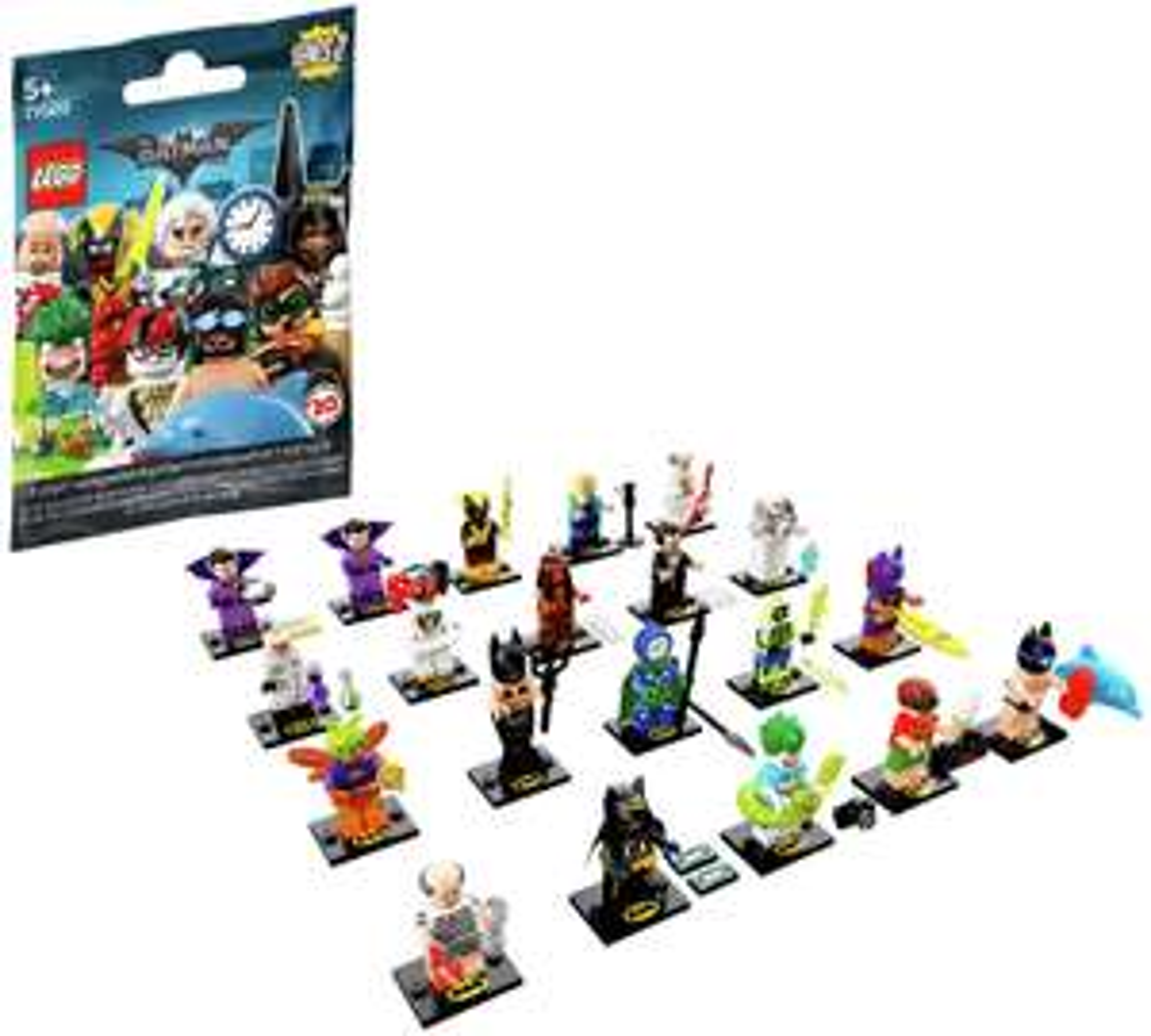 LEGO Minifigures The Batman Movie Series 2 - 71020 - £1.49 @ Argos (Free C&C)