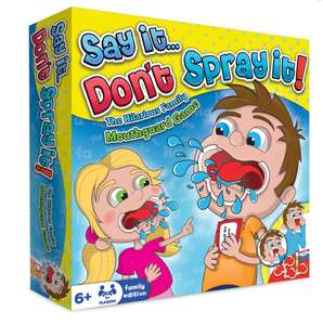 Say it don't spray it family party game £3 in Poundworld