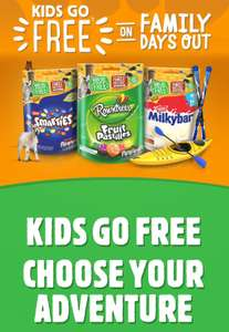 Kids go free with special nestle packs to selected locations allover the country