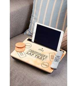 Personalised Lap Desk Tray £12.99 Delivered @ Studio