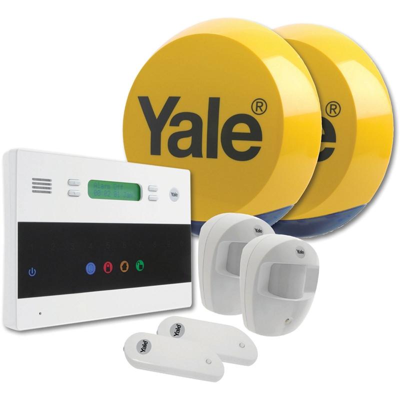 Yale Telecommunicating Alarm Kit £90 @ homebase