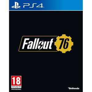 Fallout 76 (PS4) - Pre Order £44.99 365games.co.uk