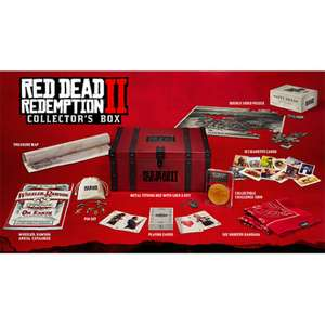 RED DEAD REDEMPTION 2 COLLECTOR'S BOX (NO SOFTWARE) £89.99 @ Game