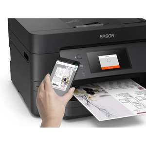 ebay Currys Shop - EPSON Workforce Pro WF-3725 All-in-One Wireless Inkjet Printer with Fax £79.99 / £71.99 with code