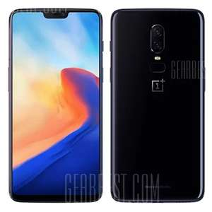 OnePlus 6 4G 6GB RAM Black (International Version) £414.96 Delivered using code @ Gearbest
