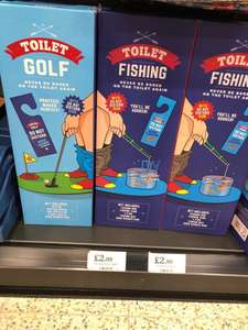 Toilet Golf & Fishing £2.99 @ Home Bargains