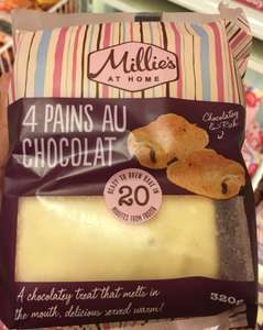 Millie's At Home 4 Pains au Chocolat @ heron foods