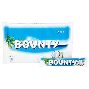 Bounty bar multipack 7 x28.5g £1.50 @ Tesco in store and online