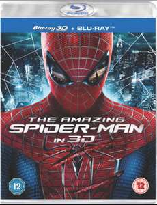 THE AMAZING SPIDERMAN IN 3D BLURAY £1 @ POUNDLAND