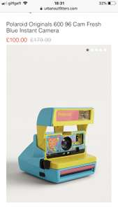 Polaroid instant camera - £100 @ Urban Outfitters
