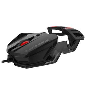 Mad Catz RAT1 Wired Optical Gaming Mouse - Black - Amazon OOS but can order for later del - £2.47 (Prime) £6.96 (Non Prime)