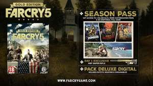 Far Cry 5 GOLD - PC - £56.24 (or £44.99 with 100 Club Units) @ Ubisoft Store