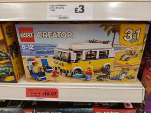 LEGO 31079 Creator 3 in 1 Sunshine Surfer Van reduced to £16.67 in Sainsburys  (Stirling)