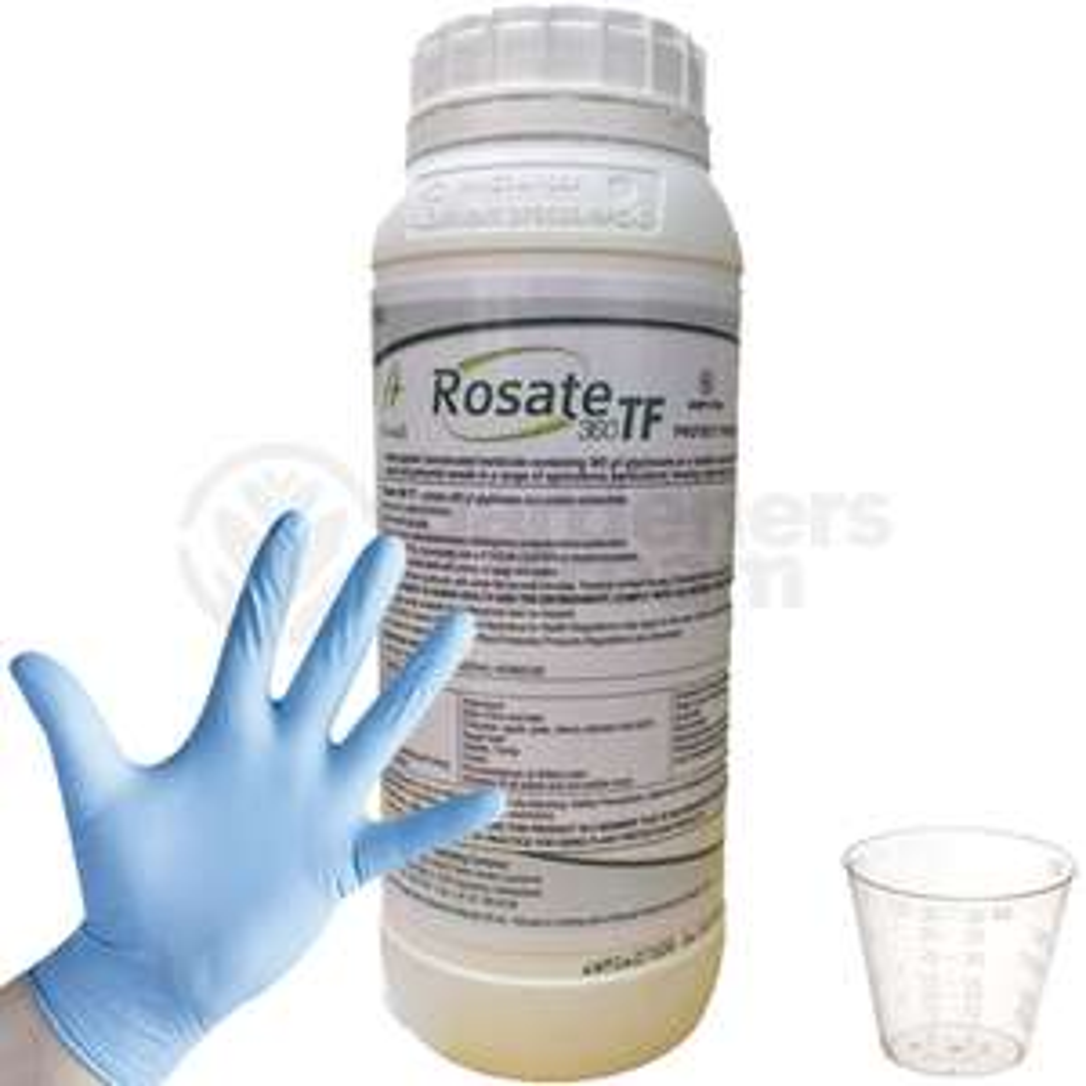 Rosate 360 TF Glyphosate Weedkiller 1 x 1 Litre Strong Professional Herbicide CG - £9.99 @ eBay (seller: gardenersdreamuk)