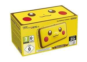 Nintendo 2DS XL Yellow Pikachu Edition Console £109.99 Delivered @ Boss Deals via eBay