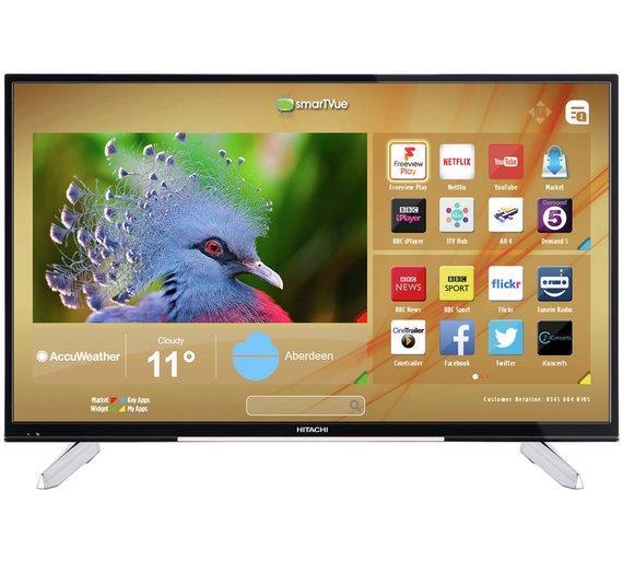 Hitachi 43 Inch 4K Ultra HD Smart LED TV £299.99 @ Argos