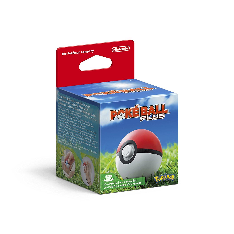 Pokemon Pokeball Plus Pre order - Nintendo Switch @ amazon £44.99