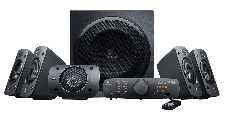 Logitech Z906 Stereo Speakers 3D 5.1 Dolby Surround Sound, 1000 W - £157.98 @ Amazon