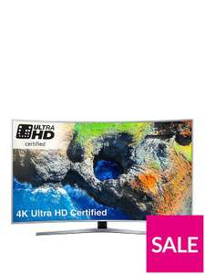Samsung UE49MU6500 49 Inch, 4K Ultra HD Certified Pro HDR, Freesat HD, Smart, LED Curved TV,  £423.20 (when bought with BNPL code) @very