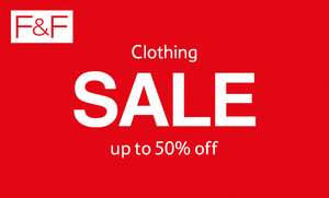 Tesco F&F clothing sale - up to 50% off