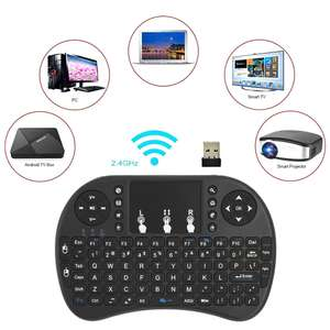 2.4GHz Wireless QWERTY Keyboard with touchpad £4.38 delivered at Tomtop