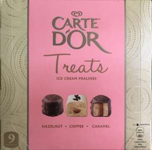 carte d'or treats ice cream pralines £1 @ Heron Foods