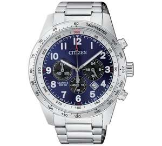 Citizen Men's Quartz Blue Dial Chronograph Watch half price now £74.99 C+C @ Argos