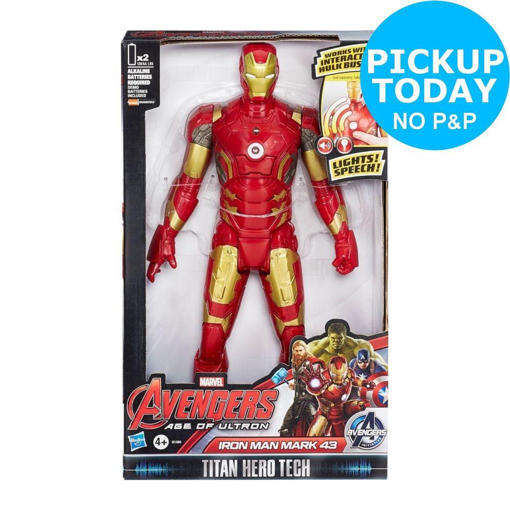 Electronic Captain America Civil War Iron Man Action Figure 12inch - £13.99 @ Argos eBay