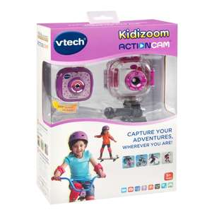 VTech Kidizoom ActionCam Purple for £15 @ Smyths Stores