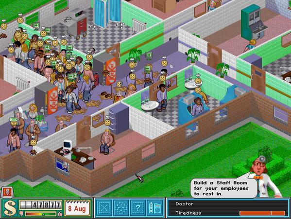 [GOG] Theme Hospital £0.69 /  Sim City 2000 Special Edition £0.69 / Theme Park £1.09 [Windows+Mac]