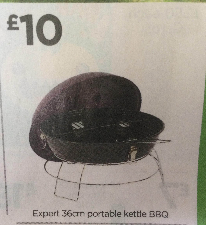 Expert Portable kettle BBQ 36cms. £10 @ ASDA instore