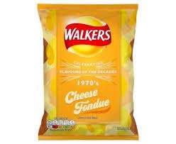 Walkers Cheese Fondue/BBQ Rib Crisps - 16p @ Co-Op instore