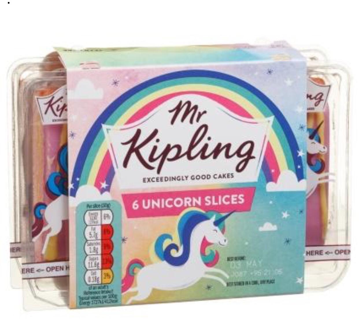 [Rollback] Unicorn Mr Kipling Slices Pk 6 for £1 at Asda