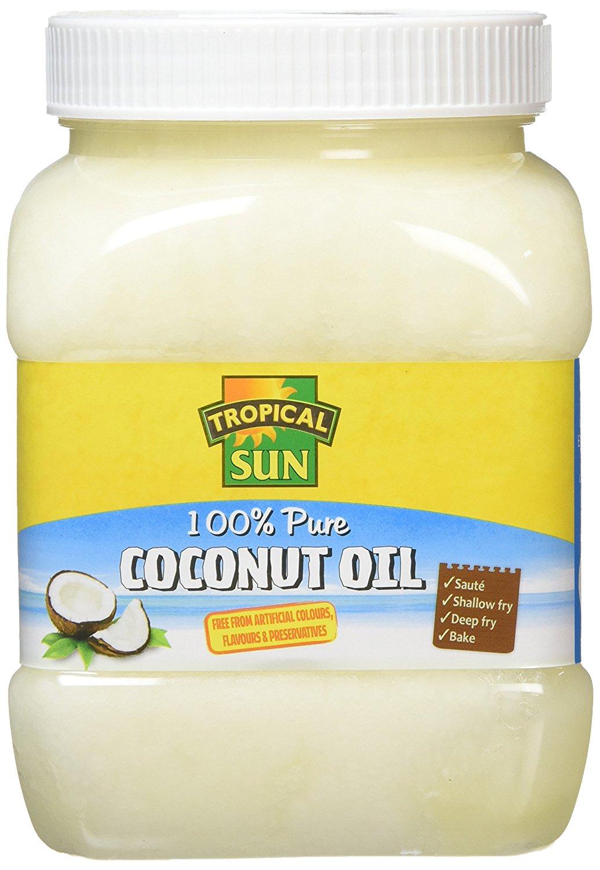 Tropical Sun 100% Pure Coconut Oil 1L (Pack of 6) - £7.89 (Prime) £12.38 (Non Prime) @ Amazon