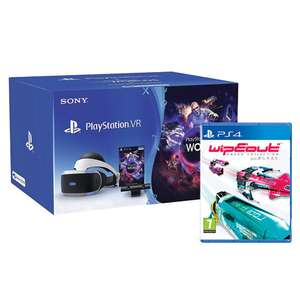 Playstation VR Starter Pack with Wipeout: Omega collection £199.49 @ Monster Shop