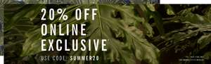 20% off Summer collection with code @ Ben Sherman