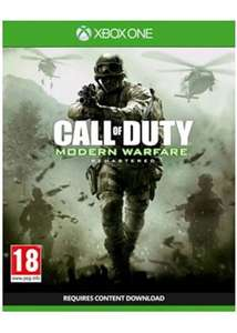 Call Of Duty Modern Warfare Remastered (Xbox One) £9.99 @ Base