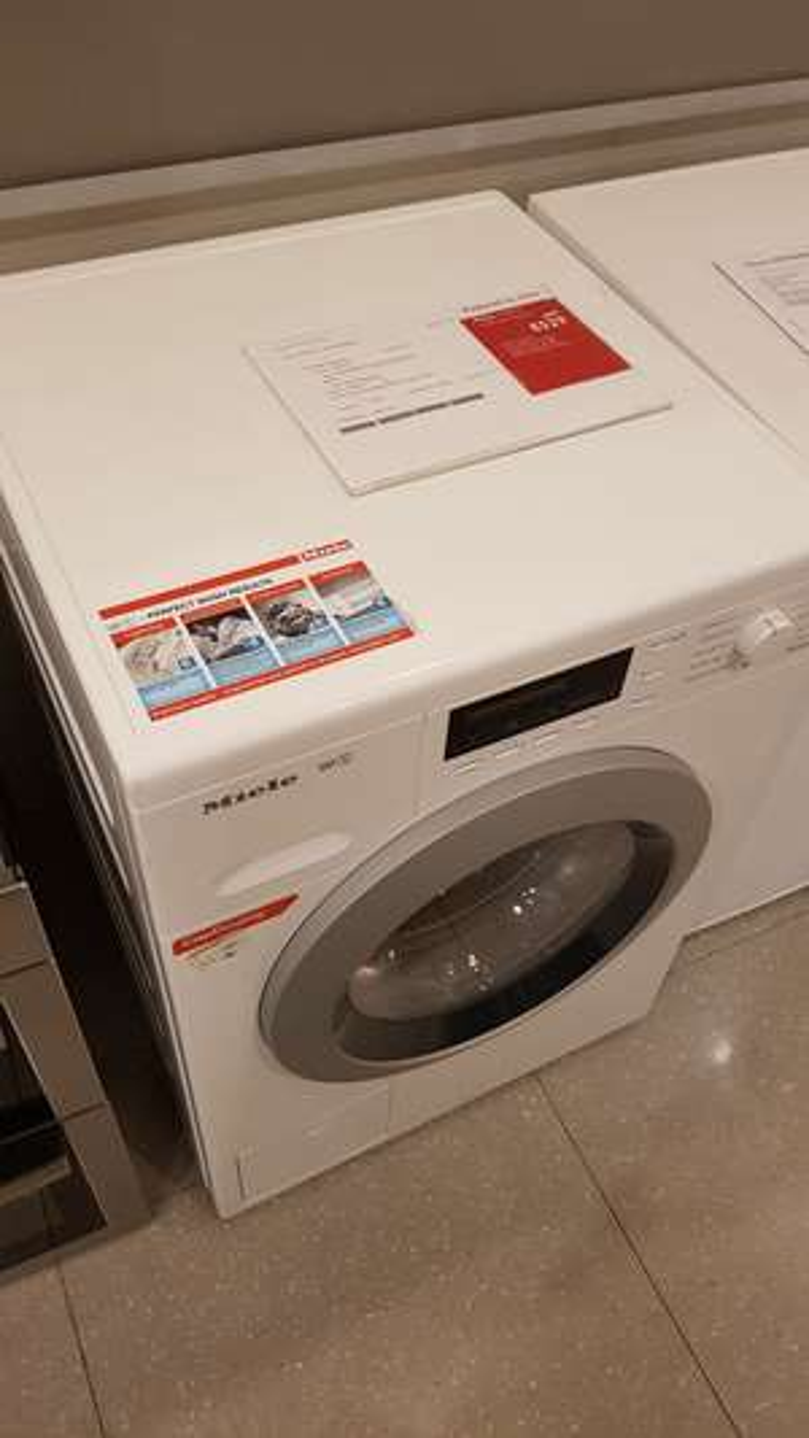 Miele WKB 120 Washing Machine (Returned at John Lewis with 2 Year Warranty) £529