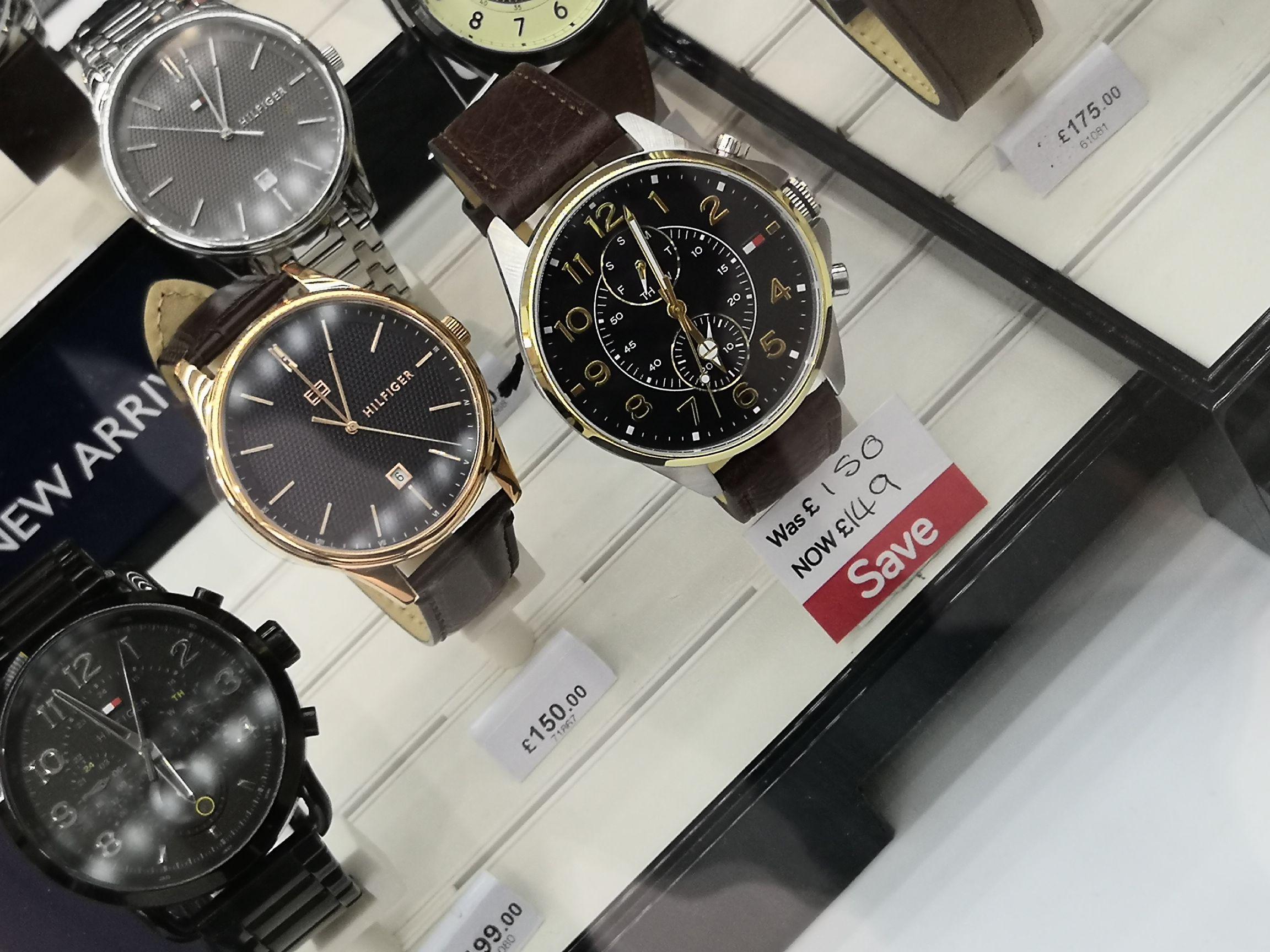 Hilfiger watch £149 instore @ Menkind